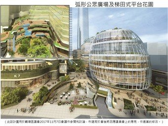 This design plan is used as a reference and for discussion by the Kwun Tong District Council on 7 November 2017.  The URA will make appropriate amendments after the meeting in response to the views collected from district councillors in the meeting.