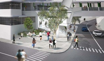 Artist Impression of Open Space Facing Queen's Road Central